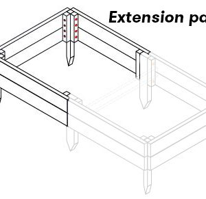 Raised Beds extension kit